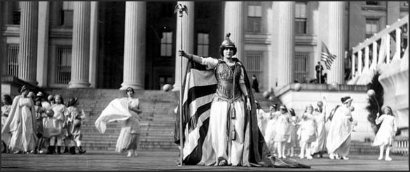 "Florence F. Noyes as ""Liberty"""